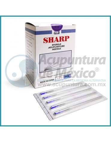 AGUJAS SHARP 0.25 X 60 MM. C/100 PIEZAS