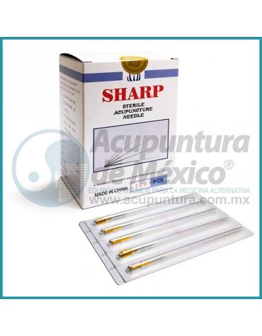 AGUJAS SHARP 0.30 X 60 MM. C/100 PIEZAS