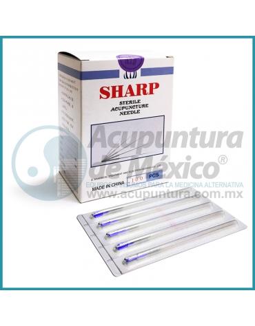 AGUJAS SHARP 0.25 X 50 MM. C/100 PIEZAS