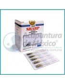 AGUJAS SHARP 0.30 X 40 MM. C/100 PIEZAS