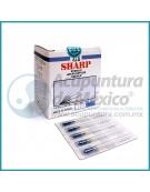 AGUJAS SHARP 0.20 X 40 MM. C/100 PIEZAS