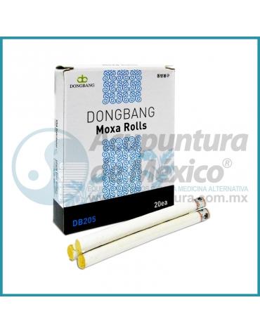 MOXA DORADA EN BARRITAS, 9 X 120 MM. C/20 PIEZAS