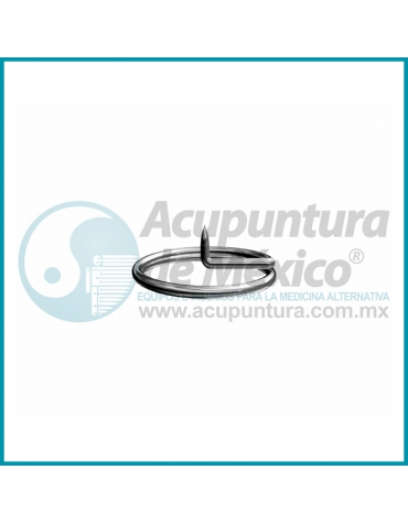 TACHUELA AURICULAR SHARP 0.20 x 1.2 MM. C/1000 PZS. (ARO CHICO)