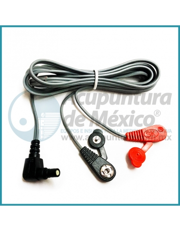 CABLE TIPO BROCHE, CONECTOR COAXIAL (90 °) X 1.15 MTS.