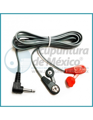 CABLE TIPO BROCHE CON CONECTOR DE 3.5 MM. (90 °)