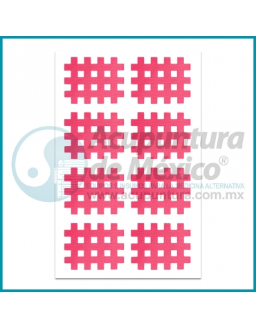 CINTA CROSS TAPE ROSA