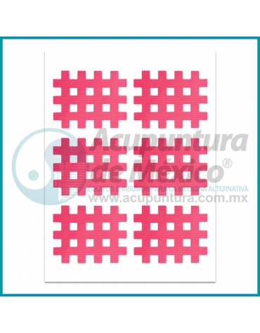 CINTA CROSS TAPE ROSA, TIRA C/6 PIEZAS