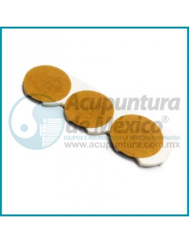 ACU-PRESOR PLATEADO DE 6 PIN