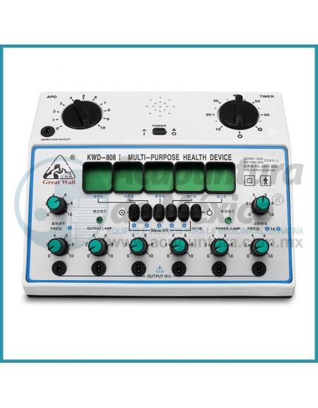 ELECTROESTIMULADOR KWD-808-I DE 6 SALIDAS