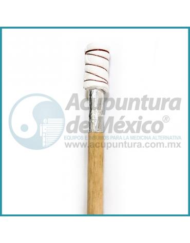 ANTORCHA DE MADERA, 20 CM.