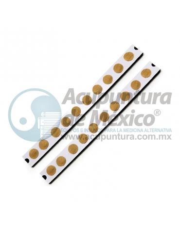 TACHUELA AURICULAR 0.20 MM X 1.5 MM. C/20 PIEZAS, PARCHE CARNE