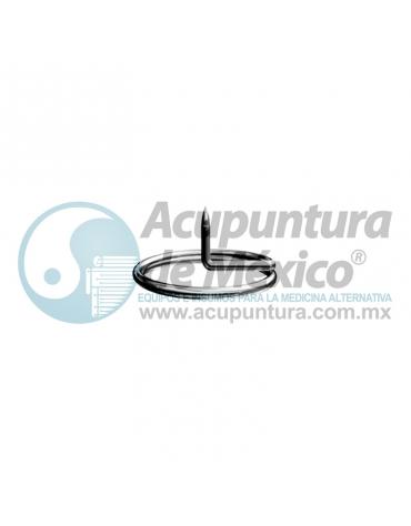 TACHUELA AURICULAR SHARP 0.20 x 1.5 MM. C/1000 PZS. (ARO CHICO)