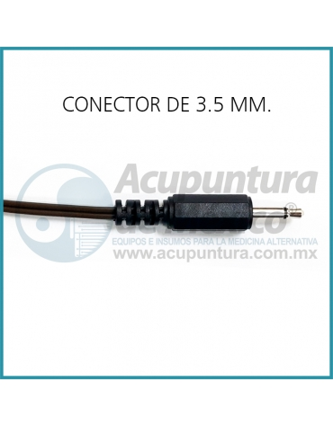 CABLE CAIMÁN CON CONECTOR DE 3.5 MM.