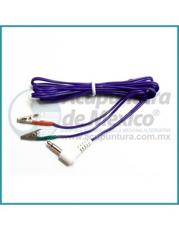 CABLE MINI CAIMAN CON CONECTOR DE 3.5 MM. (90 °) PARA KWD