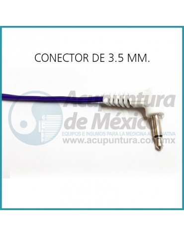 CABLE MINI CAIMAN CON CONECTOR DE 3.5 MM. (90 °) PARA KWD