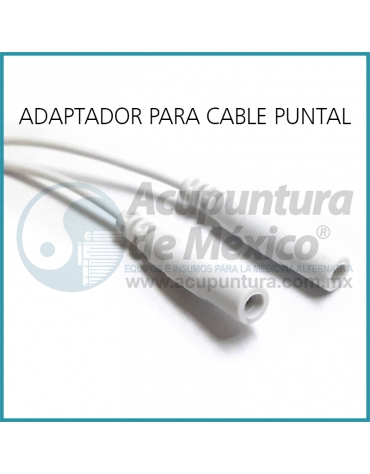 PUNTAS, CABLE MINI CAIMAN (PAR)
