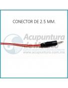 CABLE CAIMÁN CON CONECTOR DE 2.5 MM.