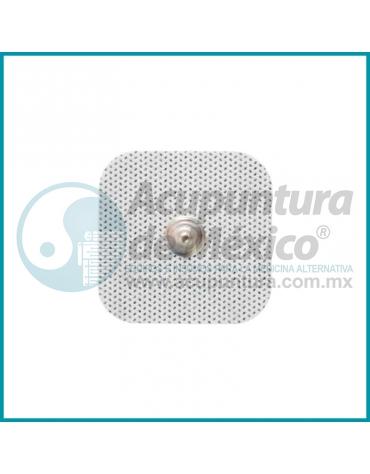 ELECTRODOS AUTOADHERIBLES CON BROCHE, 4.5 CM.